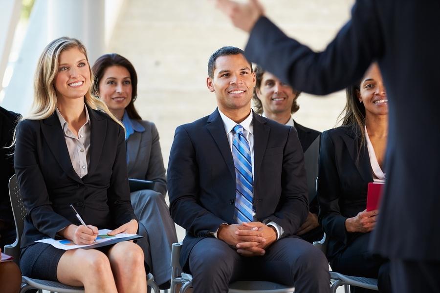 Audience Public speaking training