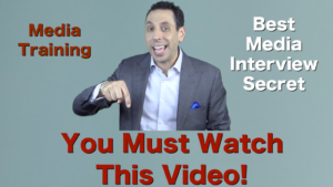 You Must Watch This Video – Best Media Training Trick