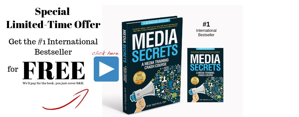 radio interview media secrets book