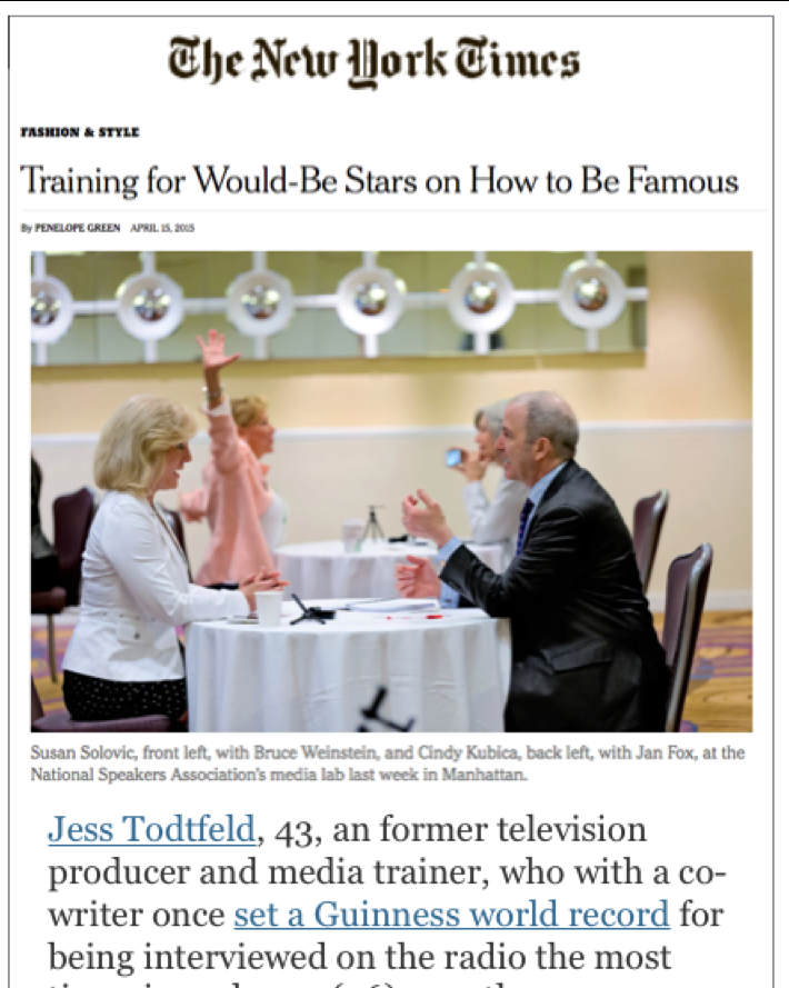 Jess Toldfeldt in the new york times