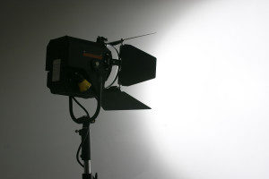media training camera lighting